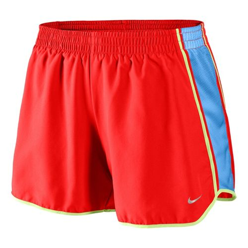 Womens Nike Pacer Lined Shorts - Crimson/Arctic Blue L