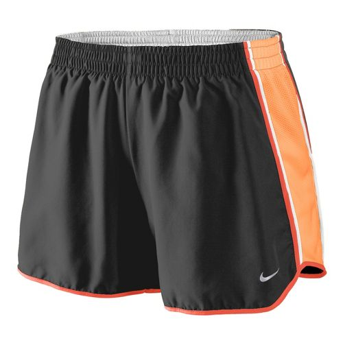 Womens Nike Pacer Lined Shorts - Dark Grey/Peach S