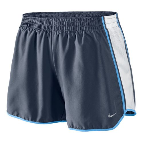 Womens Nike Pacer Lined Shorts - Dark Grey/White/Arctic Blue M