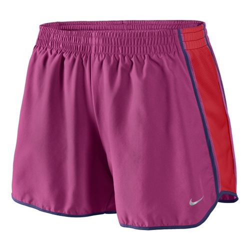 Womens Nike Pacer Lined Shorts - Fandago Pink S