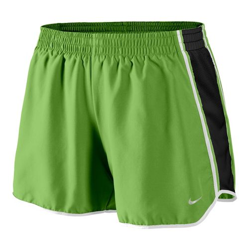 Womens Nike Pacer Lined Shorts - Green Apple/Black XL