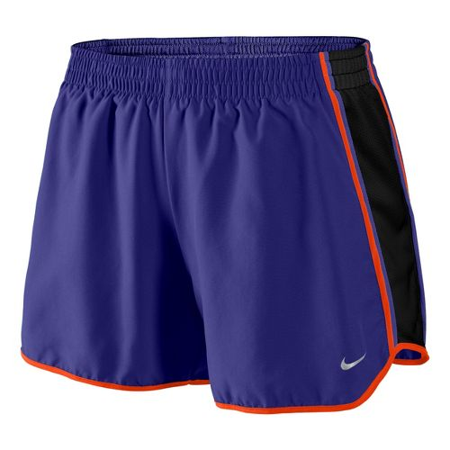 Womens Nike Pacer Lined Shorts - Grape/Black/Crimson M