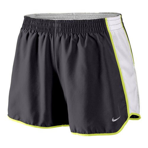 Womens Nike Pacer Lined Shorts - Grey/White/Lime S