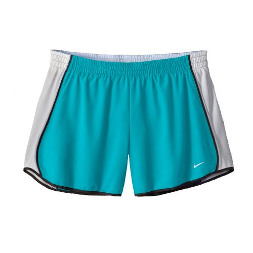 Womens Nike Pacer Lined Shorts - Hydro Blue/White XL
