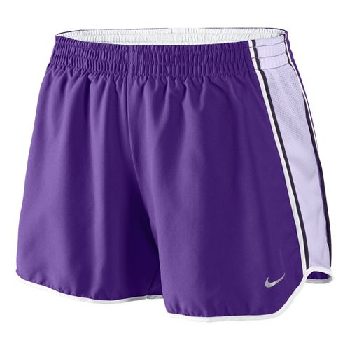 Womens Nike Pacer Lined Shorts - Neon Purple M