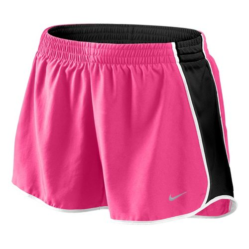 Womens Nike Pacer Lined Shorts - Pink Rose/Black M