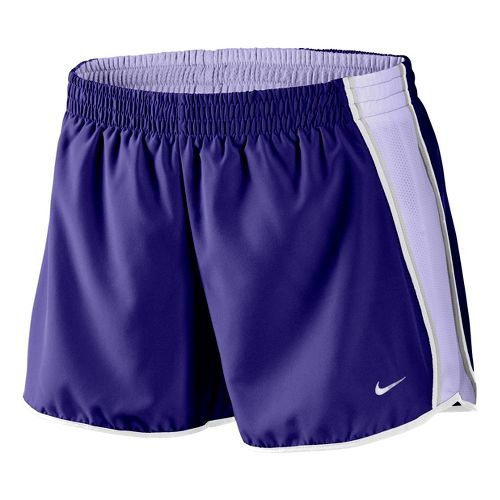 Womens Nike Pacer Lined Shorts - Purple/Light Purple L