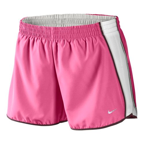 Womens Nike Pacer Lined Shorts - Rose/White L
