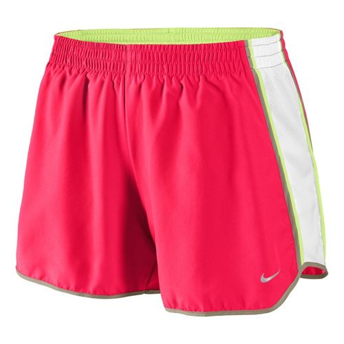Womens Nike Pacer Lined Shorts - Roxy Red/White XL