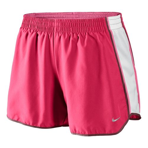 Womens Nike Pacer Lined Shorts - Scarlet/White M