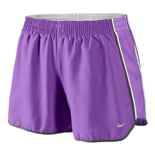 Womens Nike Pacer Lined Shorts - Violet L