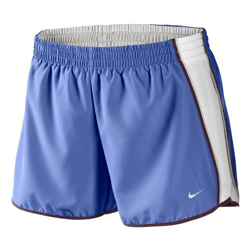 Womens Nike Pacer Lined Shorts - Violet/White XS