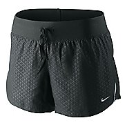 Womens Nike Fabric Mix Lined Shorts