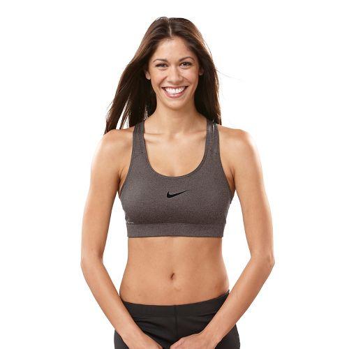 Womens Nike Pro Sports Bra - Heather Grey M