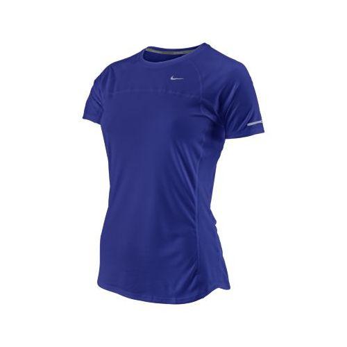 Womens Nike Miler Short Sleeve Technical Tops - Grape L