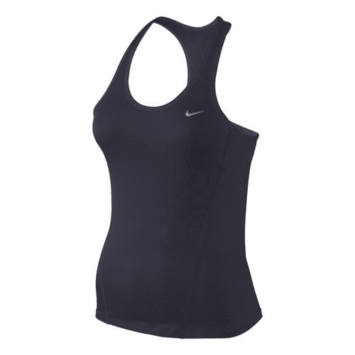 Womens Nike Long Shaping Sport Top Bras - Asphalt M