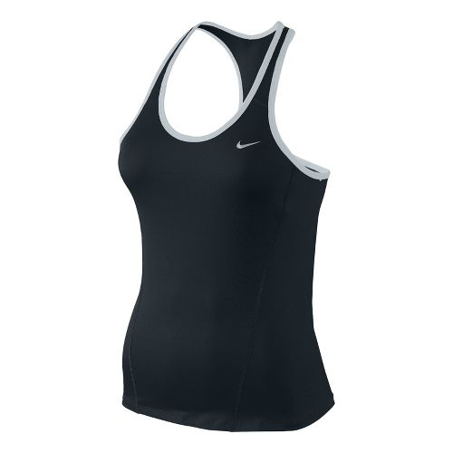 Womens Nike Long Shaping Sport Top Bras - Black L