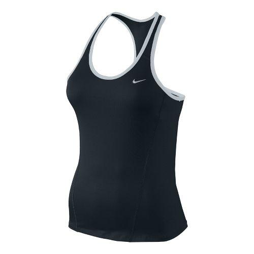 Womens Nike Long Shaping Sport Top Bras - Black S
