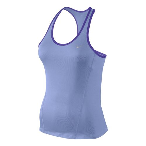 Womens Nike Long Shaping Sport Top Bras - Thistle L