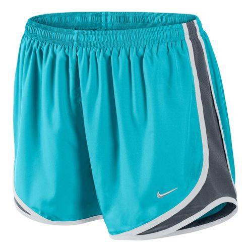 Womens Nike Tempo Track Lined Shorts - Aqua L