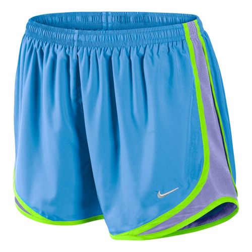 Womens Nike Tempo Track Lined Shorts - Arctic Blue/Violet M