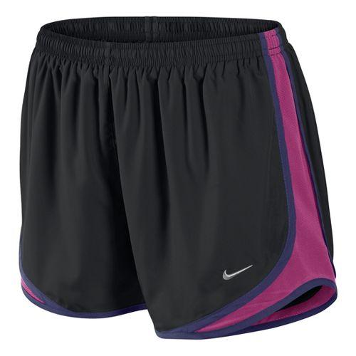 Womens Nike Tempo Track Lined Shorts - Black/Fandago Pink S
