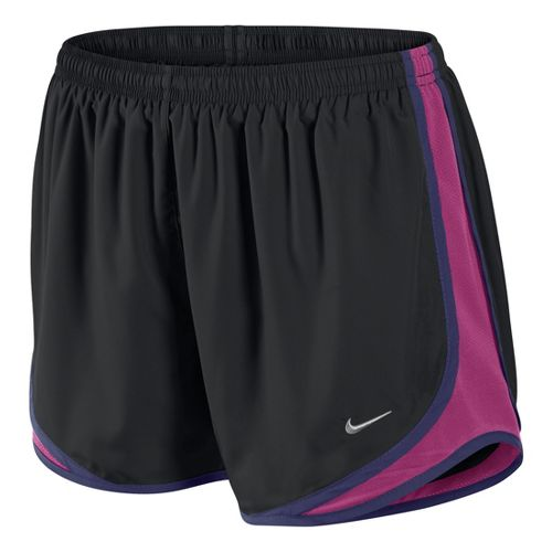 Womens Nike Tempo Track Lined Shorts - Black/Fandago Pink XL