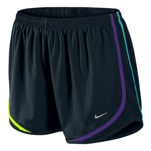 Womens Nike Tempo Track Lined Shorts - Black Multi L