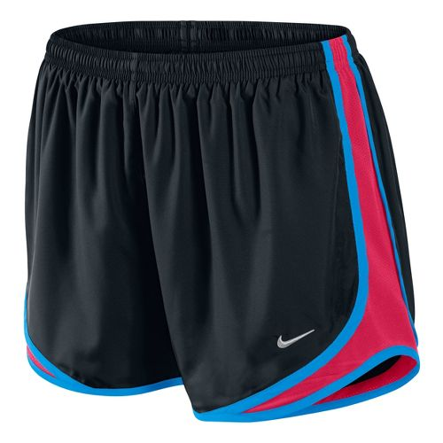 Womens Nike Tempo Track Lined Shorts - Black/Scarlet XS