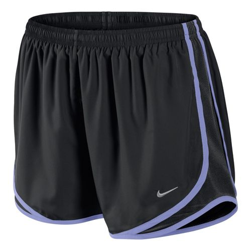 Womens Nike Tempo Track Lined Shorts - Black/Violet S