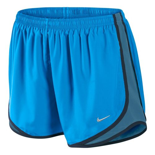 Womens Nike Tempo Track Lined Shorts - Brilliant Blue M