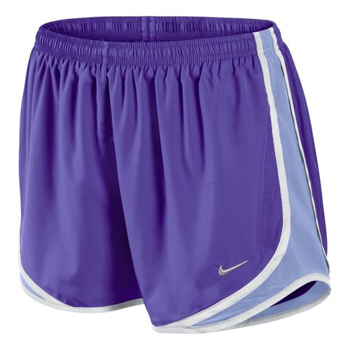 Womens Nike Tempo Track Lined Shorts - Grape/Thistle XS