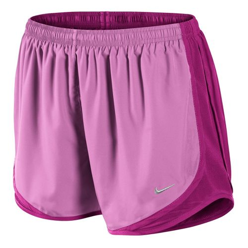 Womens Nike Tempo Track Lined Shorts - Pink Ice/Magenta S