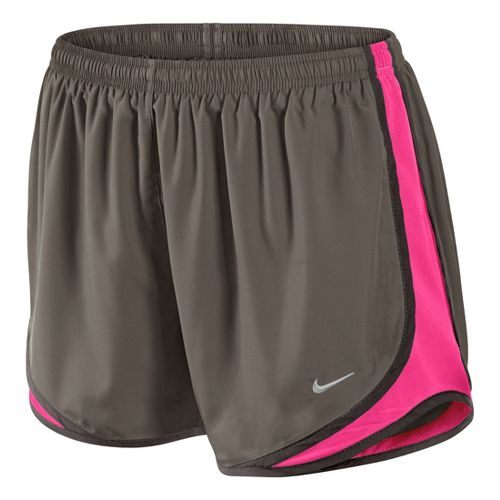 Womens Nike Tempo Track Lined Shorts - Smoke/Pink Flame XL