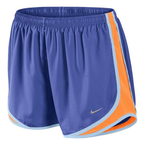 Womens Nike Tempo Track Lined Shorts - Turbo Violet/Citron M