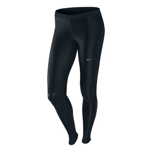 Womens Nike Swift Tight Full Length Pants - Black S