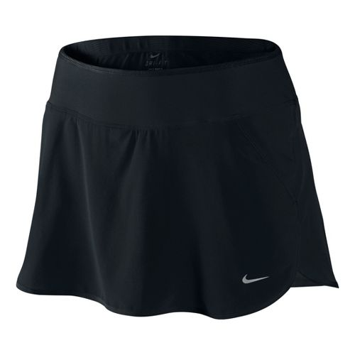 Womens Nike Lined Woven Skirt Skort Fitness Skirts - Black XS