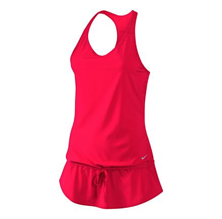 Womens Nike Running Dress Tanks Technical Tops