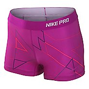 "Womens Nike Core 2.5"" Comp Sublimated Fitted Shorts"