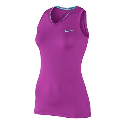 Womens Nike Pro Sleeveless V Neck II Technical Tops