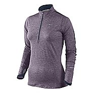 Womens Nike Element Long Sleeve 1/2 Zip Technical Tops