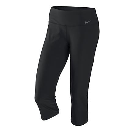 Womens Nike Legend Slim Poly Capri Tights