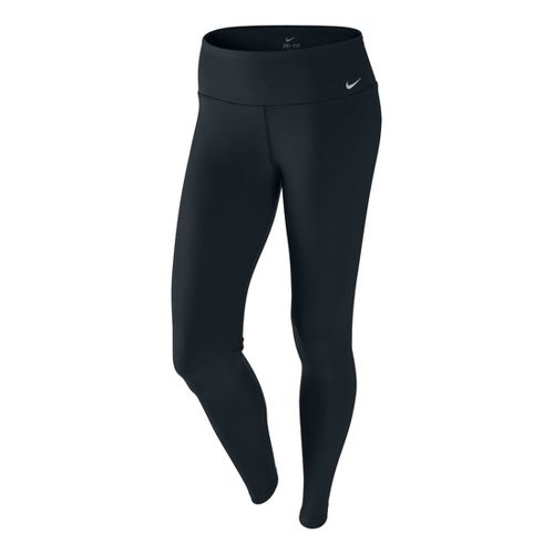 Womens Nike Legend Pant Fitted Tights - Black M