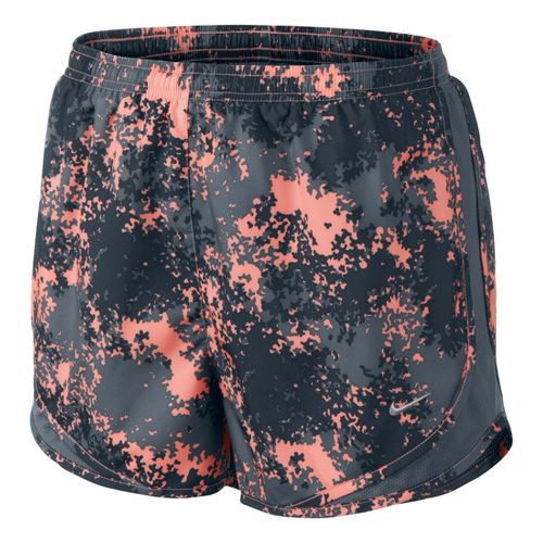 Womens Nike Printed Tempo Track Lined Shorts - Atomic Pink/Print M