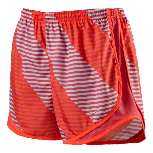 Womens Nike Printed Tempo Track Lined Shorts - Crimson XS