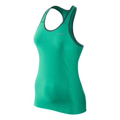 Womens Nike Shaping Long Bra Sport Top - Jade S