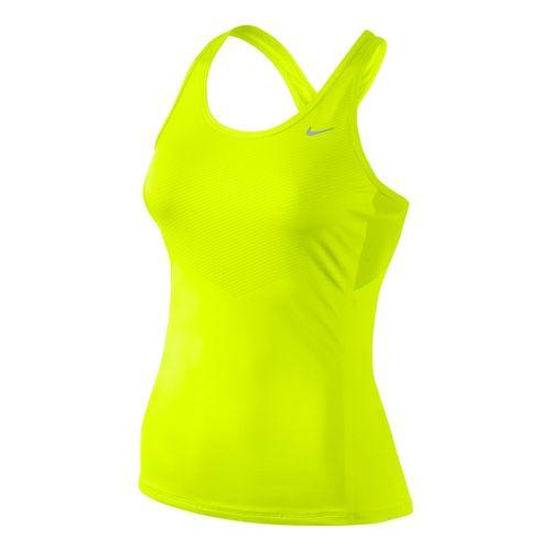 Womens Nike Speed Tank Technical Tops - Electra XL