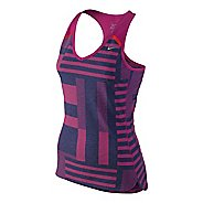 Womens Nike Tailwind Tank Technical Tops
