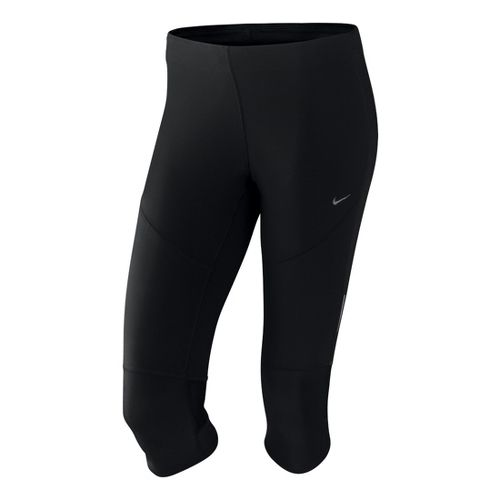 Womens Nike Tech Capri Tights - Black S