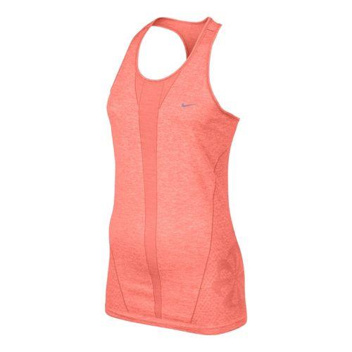 Womens Nike Seamless Tank Technical Tops - Atomic Pink S